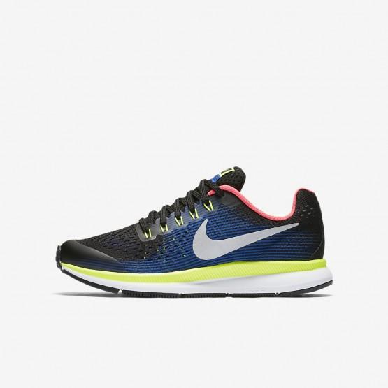 Chaussure Running Nike Zoom Pegasus Garcon Noir/Bleu 881953-005