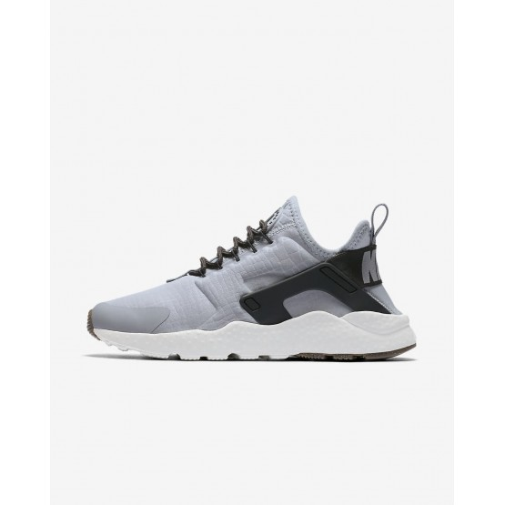 Sapatilhas Casual Nike Air Huarache Mulher Cinzentas/Branco/Marrom 819151-013