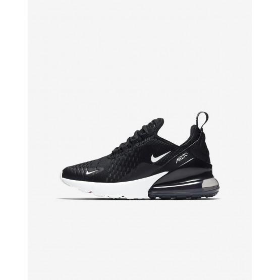 Chaussure Casual Nike Air Max 270 Garcon Noir/Blanche 943345-001