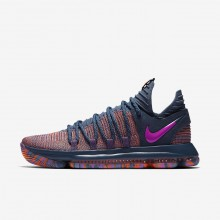 Nike Zoom KDX Basketball Shoes Womens Ocean Fog/Hyper Crimson/Fuchsia Blast 897817-400