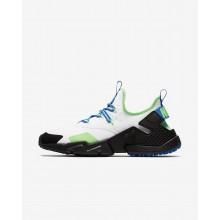 Nike Air Huarache Lifestyle Shoes Mens White/Black/Blue Nebula AH7334-102