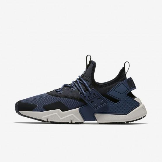 Zapatillas Casual Nike Air Huarache Hombre Azules/Negras/Blancas AH7334-401