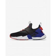 Chaussure Casual Nike Air Huarache Homme Noir/Orange AH7335-002