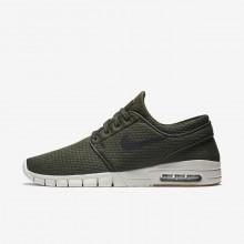 Nike SB Stefan Janoski Max Skateboarding Shoes Mens Sequoia/Gum Medium Brown/Light Bone/Black 631303-302