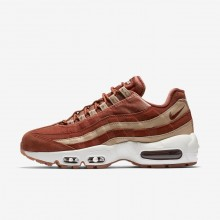 Chaussure Casual Nike Air Max 95 Femme Beige/Blanche AA1103-201