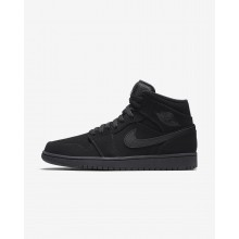 Air Jordan 1 Lifestyle Shoes Mens Black/White 554724-040