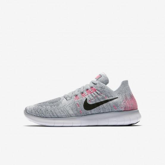 Chaussure Running Nike Free RN Garcon Grise/Platine/Grise/Noir 881974-001