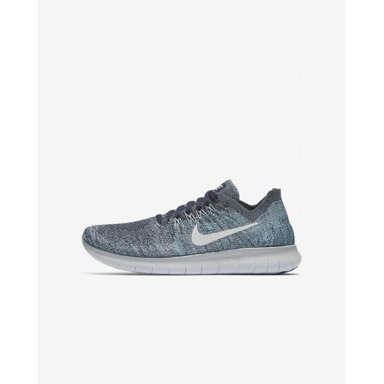 Zapatillas Running Nike Free RN Niño Azules/Gris/Blancas/Plateadas 881973-402