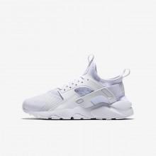 Chaussure Casual Nike Air Huarache Garcon Blanche 847569-100