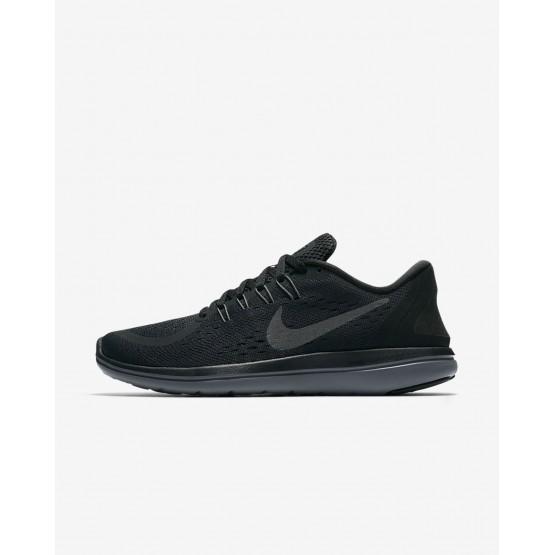 Nike Flex 2017 RN Running Shoes Womens Black/Anthracite/Dark Grey/Metallic Hematite 898476-005