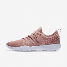 Chaussure De Sport Nike Free TR Femme Rose/Blanche/Corail 904651-604