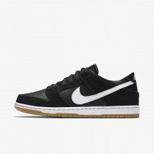 Nike SB Dunk Skateboarding Shoes Mens Black/Gum Light Brown/White 854866-019