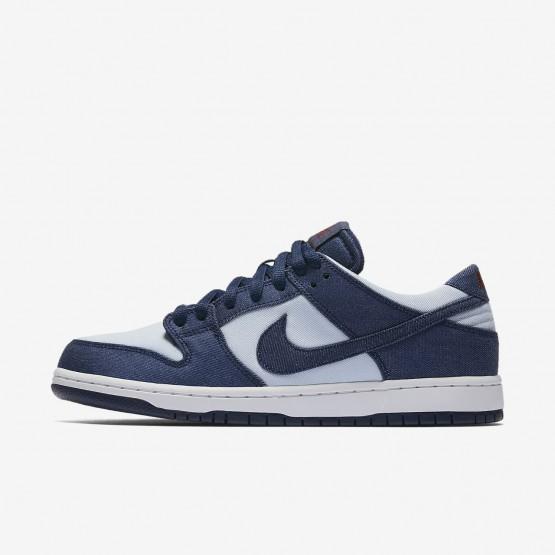Nike SB Dunk Skateboarding Shoes Mens Binary Blue/Hydrogen Blue/Dark Team Red 854866-444