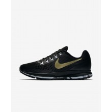 Nike Air Zoom Running Shoes Womens Black/Anthracite/White/Metallic Gold Star 880560-017