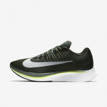 Chaussure Running Nike Zoom Fly Homme Vert Olive/Foncé Blanche 880848-301
