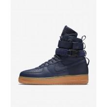 Zapatillas Casual Nike SF Air Force 1 Hombre Azul Marino/Negras/Marrones 864024-400