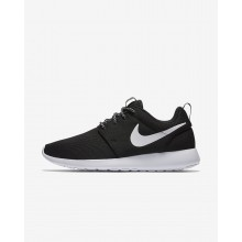 Zapatillas Casual Nike Roshe One Mujer Negras/Gris Oscuro/Blancas 844994-002