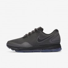 Nike Zoom All Out Running Shoes Womens Midnight Fog/Obsidian/Black AJ0036-002