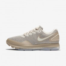 Nike Zoom All Out Running Shoes Womens Moon Particle/Sand/Sail AJ0036-201