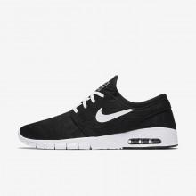 Nike SB Stefan Janoski Max Skateboarding Shoes Mens Black/White 631303-010