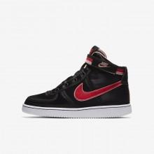 Chaussure Casual Nike Vandal High Supreme QS Fille Noir/Corail/Blanche/Rouge AQ3713-001