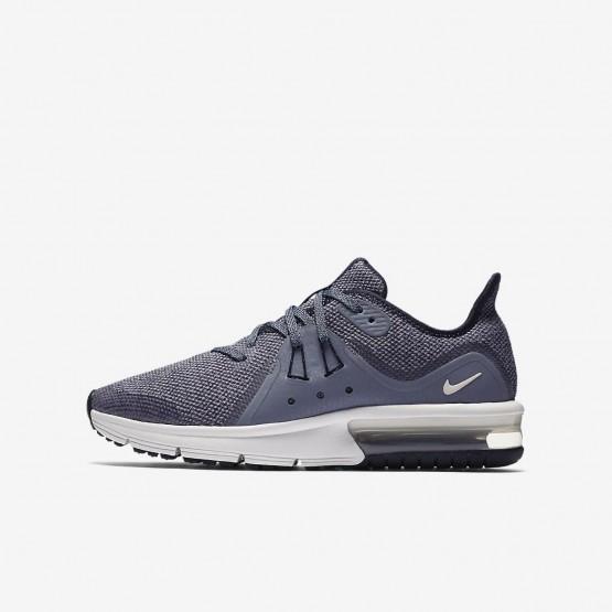 Zapatillas Running Nike Air Max Sequent Niño Obsidian/Obsidian Oscuro/Blancas/Metal Gris Oscuro 922884-400