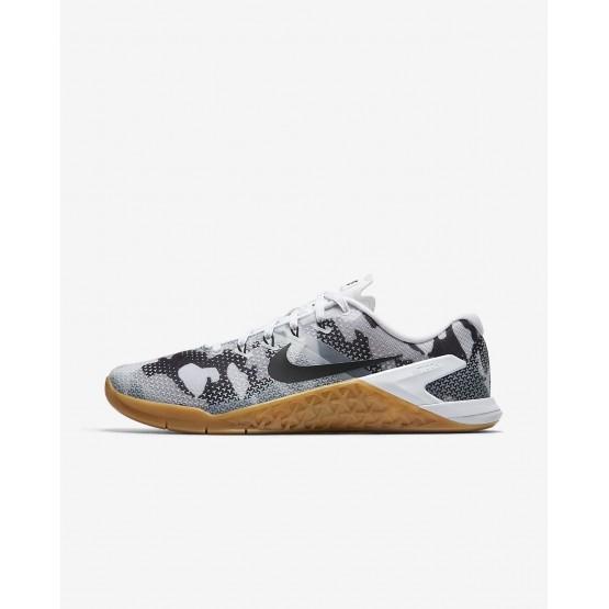 Nike Metcon 4 Training Shoes Mens White/Gum Medium Brown/Black AH7453-109