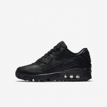 Nike Air Max 90 Lifestyle Shoes Boys Black 833412-001