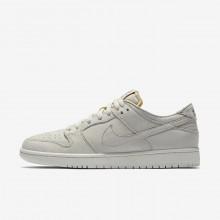 Nike SB Zoom Dunk Skateboarding Shoes Mens Light Bone/Summit White/Khaki AA4275-001