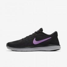Nike Flex 2017 RN Running Shoes Womens Black/Hyper Magenta/Wolf Grey/Fuchsia Glow 898476-014