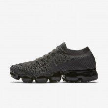 Nike Air VaporMax Running Shoes Womens Midnight Fog/Black/College Navy/Multi-Color 849557-009