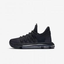 Nike Zoom KDX Basketball Shoes Boys Black/Dark Grey 918365-004