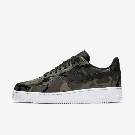 Nike Air Force 1 Lifestyle Shoes Mens Medium Olive/Baroque Brown/Sequoia/Black 823511-201