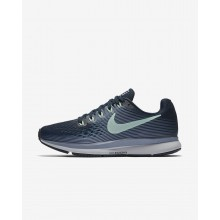 Nike Air Zoom Running Shoes Womens Armory Navy/Glacier Grey/Black/Mint Foam 880560-405