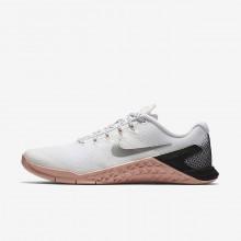 Nike Metcon 4 Trainingsschuhe Damen Weiß/Rosa/Schwarz/Metal Silber 924593-100