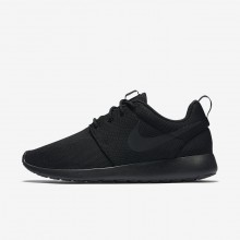 Zapatillas Casual Nike Roshe One Mujer Negras/Gris Oscuro 844994-001