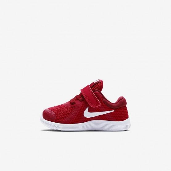 Zapatillas Running Nike Revolution 4 Niña Rojas/Rojas/Negras/Blancas 943304-601