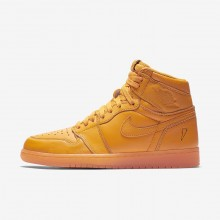 Chaussure Casual Air Jordan 1 Homme Orange AJ5997-880