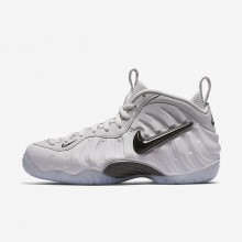 Nike Air Foamposite Lifestyle Shoes Mens Vast Grey/Black AO0817-001