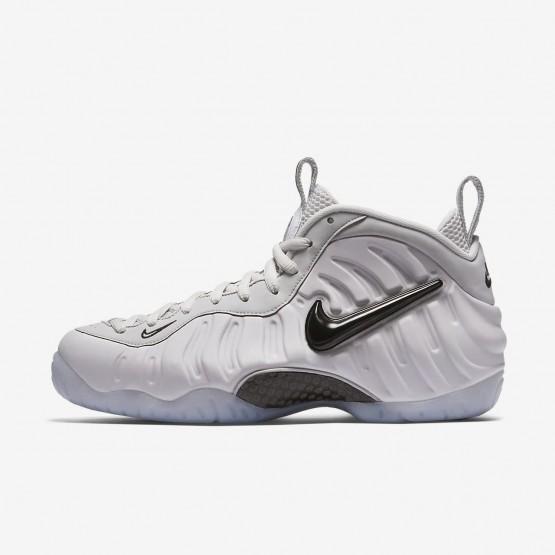 Nike Air Foamposite Lifestyle Shoes Mens Vast Grey/Black AO0817-001