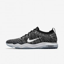 Nike Air Zoom Trainingsschuhe Damen Schwarz/Grau/Weiß 922872-007