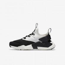 Nike Huarache Freizeitschuhe Jungen Schwarz/Weiß 943344-002
