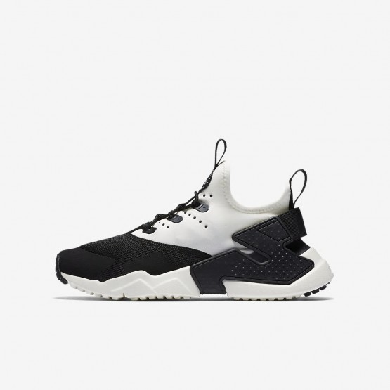 Nike Huarache Lifestyle Shoes Boys Black/White/Sail 943344-002