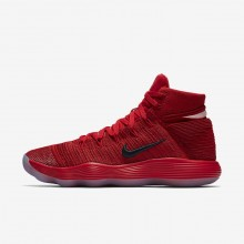 Nike React Hyperdunk 2017 Basketball Shoes Womens University Red/Reflect Silver 917726-600