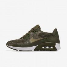 Nike Air Max 90 Lifestyle Shoes Womens Cargo Khaki/White/Neutral Olive 881109-300