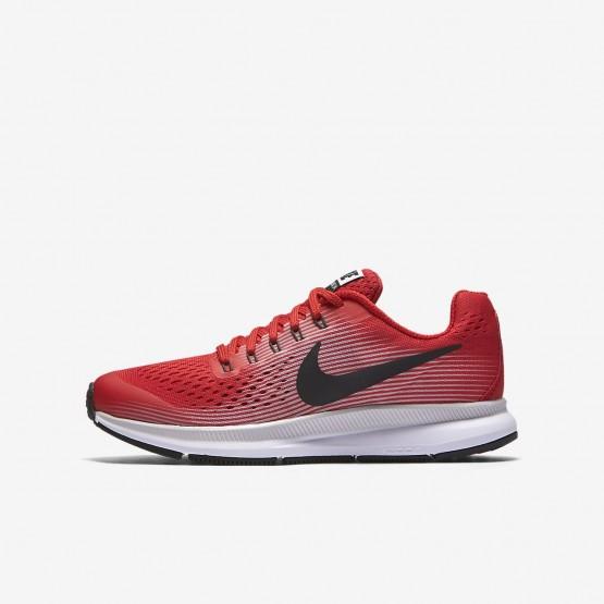 Chaussure Running Nike Zoom Pegasus Garcon Rouge/Grise/Noir 881953-601