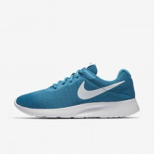 Chaussure Casual Nike Tanjun Femme Turquoise/Blanche 812655-405