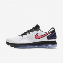 Nike Zoom All Out Running Shoes Womens White/Black/Solar Red AJ0036-101