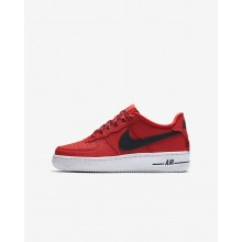 Nike Air Force 1 Lifestyle Shoes Boys University Red/White/Black 820438-606