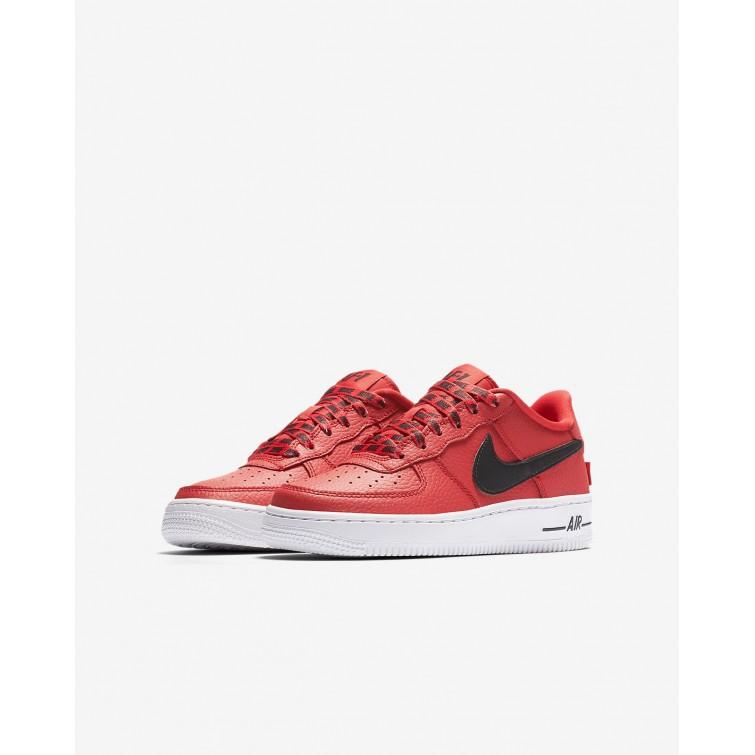 cerca fuego Problema  Zapatillas Casual Nike Imitacion Baratas, Zapatillas Nike Air Force 1 Niño  Rojas/Blancas/Negras Comprar Online